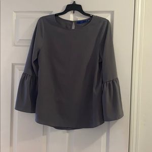 Grey Blouse - Great For Work!